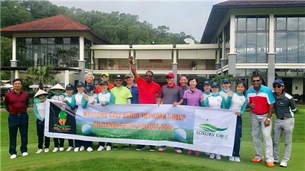 Welcome GOLF BUDDY NETWORK GROUP Singapore on DaNang Viet Nam Golf Holiday 2016