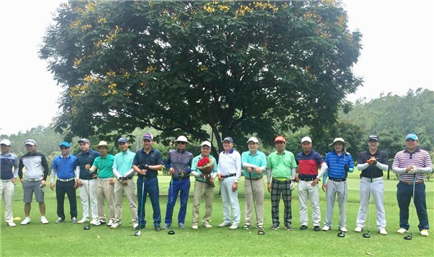 "3D3N Golf Holiday in HCMC - Twin Doves, Song Be & Tan Son Nhat"" 18/ 22/ 08/ 2017"